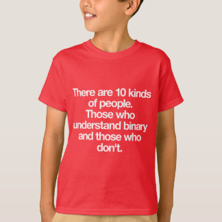 There are 10 kinds of people T-Shirt