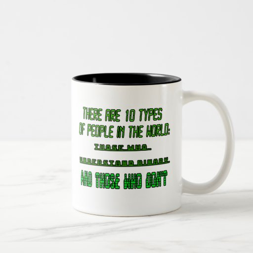 there are 10 types of people in the world zazzle