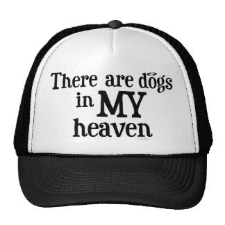 there are dogs in my heaven mesh hat
