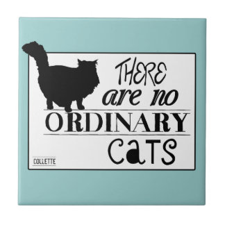 There Are No Ordinary Cats - All Colours Tiles