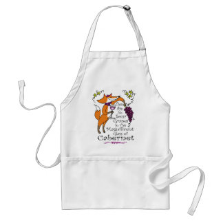 There are No Sour Grapes in this Cabernet! Standard Apron