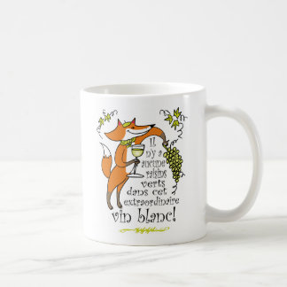 There are No Sour Grapes in this White Wine! Basic White Mug