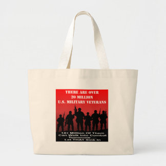 There Are Over 20 Million US Military Veterans Jumbo Tote Bag