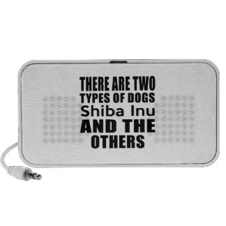 THERE ARE TWO TYPES OF DOGS Shiba Inu AND THE OTHE Notebook Speakers