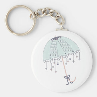There could never be a rainbow - umberella keyring