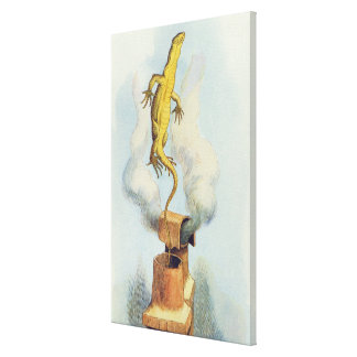 There Goes Bill!' Canvas Print