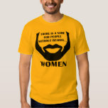 There Is A Name For People Without Beards... Women T Shirt