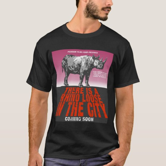 There is a rhino loose in the city