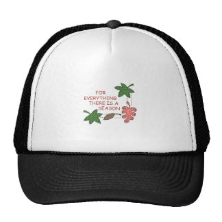THERE IS A SEASON TRUCKER HATS