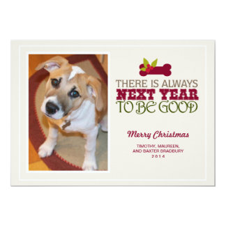 There is Always Next Year  | Holiday Photo Card 13 Cm X 18 Cm Invitation Card