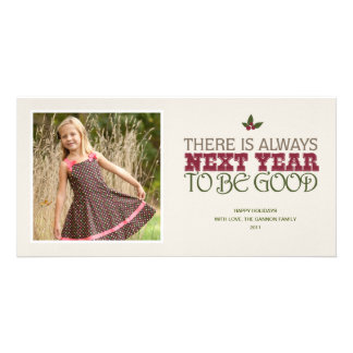 There is Always Next Year to Be Good - Christmas Photo Cards