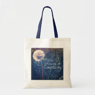 There Is Beauty In Simplicity Tote Bag