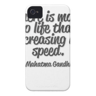 There is more to life than increasing its speed... iPhone 4 cover