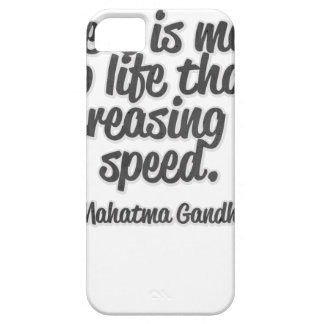 There is more to life than increasing its speed... iPhone 5 case