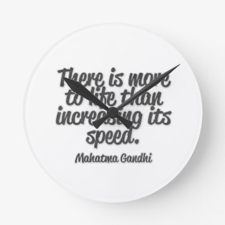 There is more ton life than increasing its speed… wallclocks
