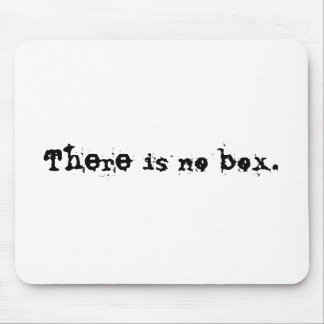 There is no box. mouse mat