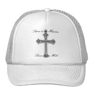 There is no Heaven There is no Hell Mesh Hat