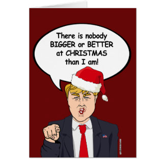 There is nobody better at Christmas than Trump Card