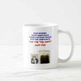 THERE IS NOTHING WRONG WITH DEMOCRATS BASIC WHITE MUG