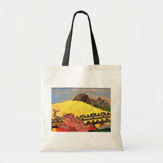 There Is The Temple (Parahi Te Marae) By Paul Canvas Bags