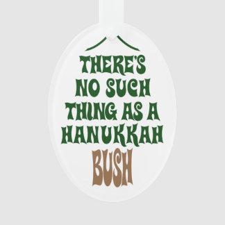 There's no Hanukkah Bush