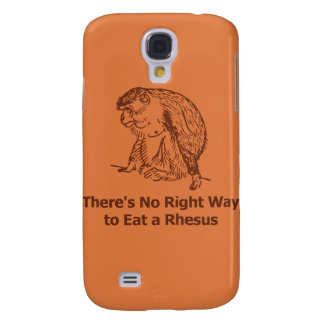 There s No Right Way to Eat a Rhesus Samsung Galaxy S4 Case