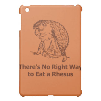 There s No Right Way to Eat a Rhesus iPad Mini Cases