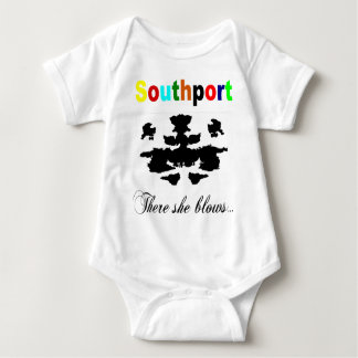 There she blows baby bodysuit
