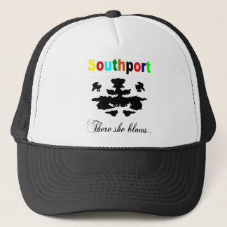 There she blows trucker hat