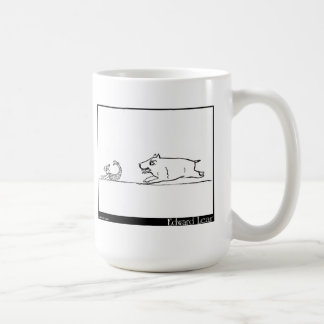 There was a Young Lady of Clare Basic White Mug