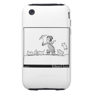 There was a Young Lady of Ryde Tough iPhone 3 Case