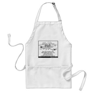 There was an old man in a tree standard apron