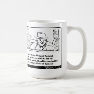 There was an old man of Spithead Coffee Mugs