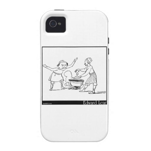 There was an old man of Thermopylae iPhone 4/4S Cases