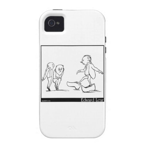 There was an old man of Toulouse iPhone 4/4S Covers