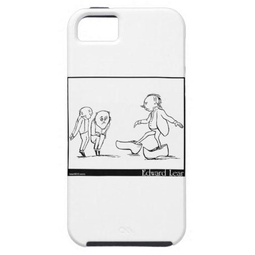 There was an old man of Toulouse iPhone 5 Cover