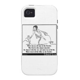 There was an old man on the Border iPhone 4/4S Cover