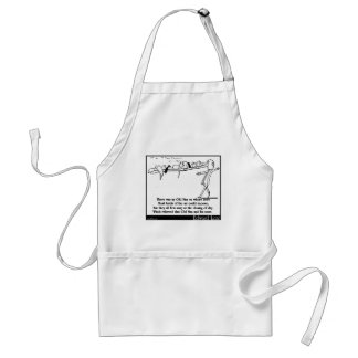 There was an Old Man on whose nose Standard Apron