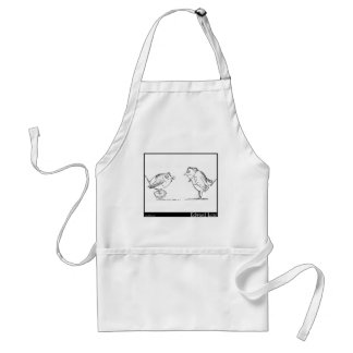 """There was an Old Man who said, """"Hush! Standard Apron"""