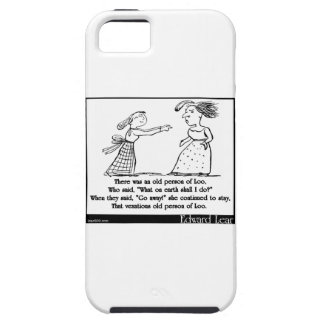 There was an old person of Loo iPhone 5 Cases