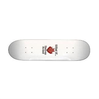 There was no Devil Skate Board Deck
