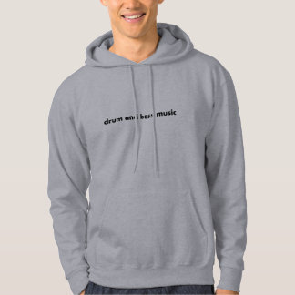 therefore and bass music hoodies