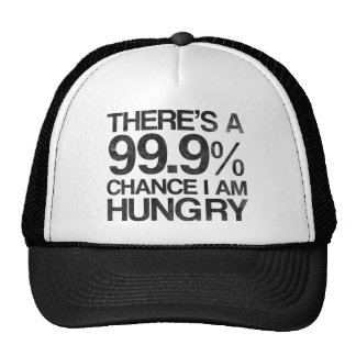 There's a 99.9% chance i am hungry cap