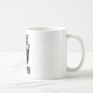 There's A Name For People Without Beards, Women! Basic White Mug