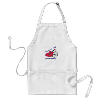 There's A Song For Everything Standard Apron