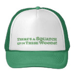 There's A Squatch Up In These Woods! - Basic Trucker Hat
