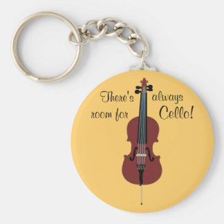 There's always room for Cello! Key Ring