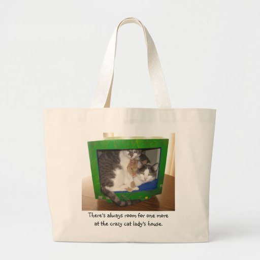 There's always room for one more tote bag