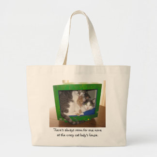 There's always room for one more large tote bag