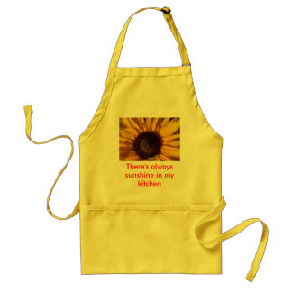 There's always sunshine in my kitchen standard apron